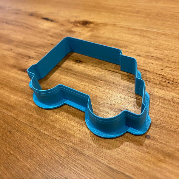 Ambulance Cookie Cutter and Stamp