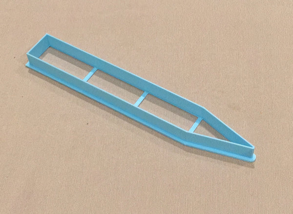 Custom Cutter for Cookie or Fondant. Any design!  We can make any design you need to help you make customised cookies for decorating with royal icing, fondant or simply leaving plain with a clean impression stamp.   We can make cutters up to 220mm / 22cm long and 190mm / 19cm wide. For sizes over 150mm / 15cm long or wide, please contact us first, otherwise select the options and share your image when ordering below and we could be shipping your cutter to you within 24 hours. Just ask us now!