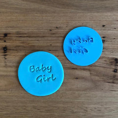 Baby Girl Style #1 Emboss Stamp