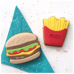 Burger and Fries Cookie Cutter Set
