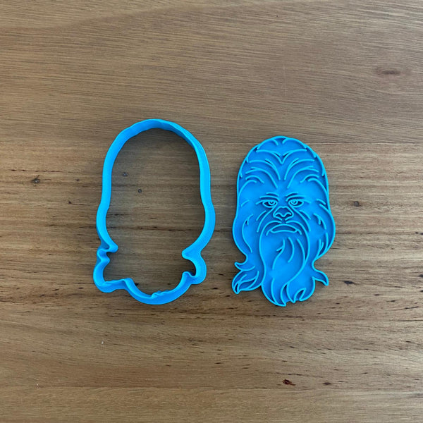 Chewbacca Star Wars Cookie Cutter & Optional Stamp