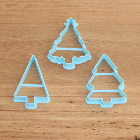 Christmas Theme Cookie and Fondant Cutters & Stamps