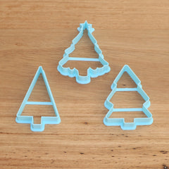 Christmas Tree Cookie Cutter - 3 styles to choose