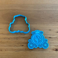 Cinderella Carriage #1 Cookie Cutter & optional Stamp
