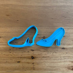 Cinderella Shoe Slipper Cookie Cutter & optional Stamp