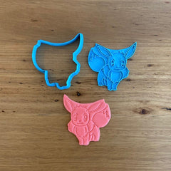 Pokemon Eevee Cookie Cutter and Stamp