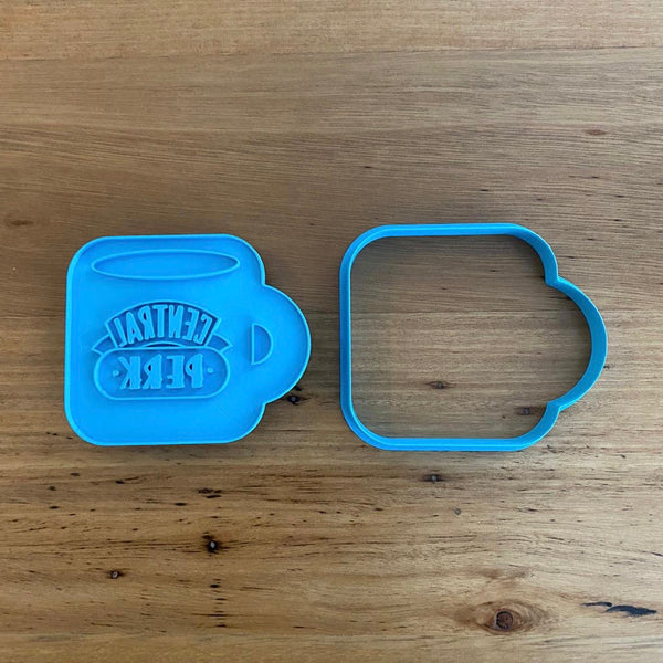 Friends Central Perk Cookie Cutter & Optional Stamp