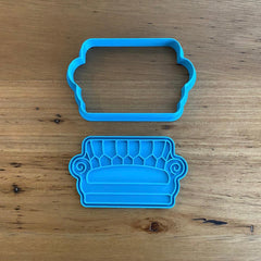 Friends Sofa Cookie Cutter & Optional Stamp