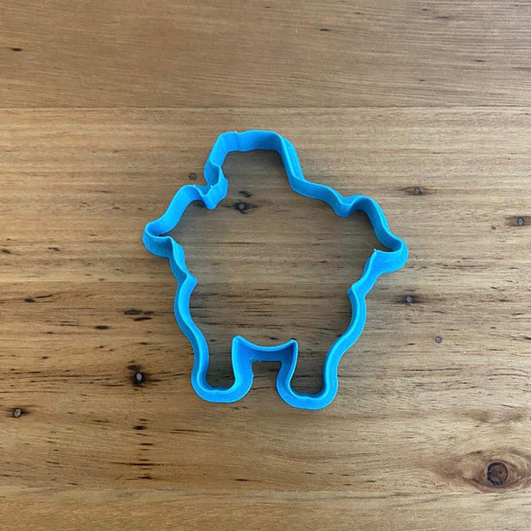 Friends Turkey Cookie Cutter & Optional Stamp