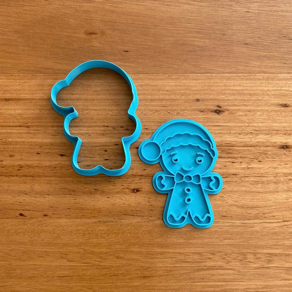 Gingerbread Man for Christmas Cookie Cutter & Stamp NEW FOR 2020