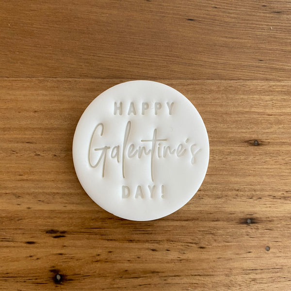 Happy Galentine's Day Cutter and matching Emboss Stamp