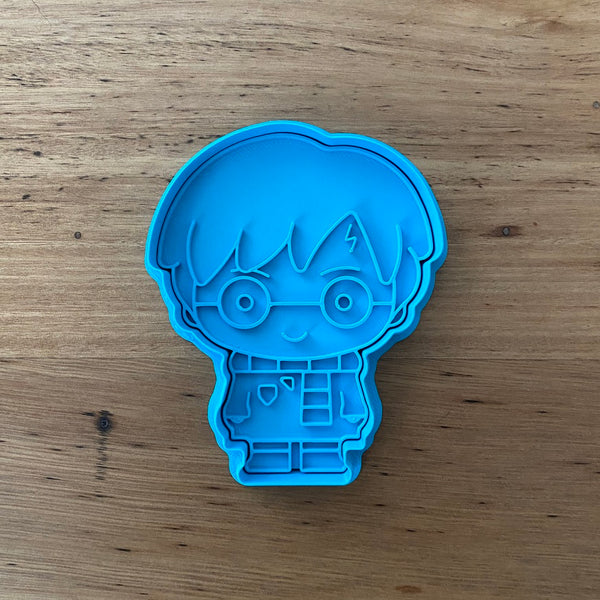 Harry Potter  Cookie Cutter & Stamp Sets - Buy individually or as a set with Ron Weasley and Hermione Granger