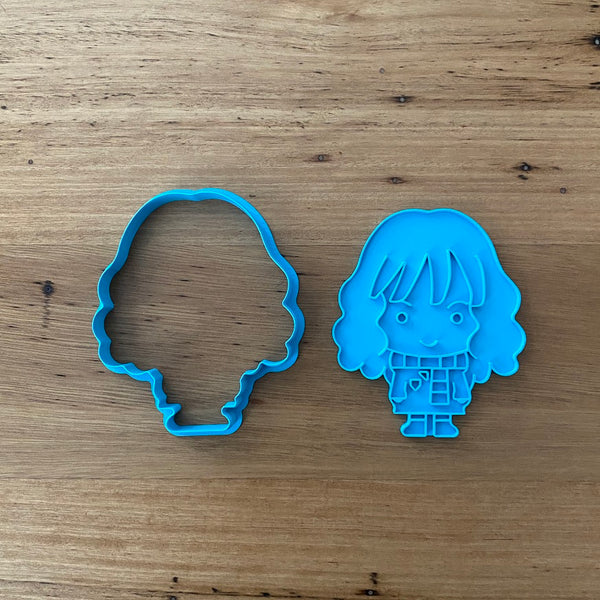 Hermione Granger  Cookie Cutter & Stamp Sets - Buy individually or as a set with Ron Weasley and Harry Potter