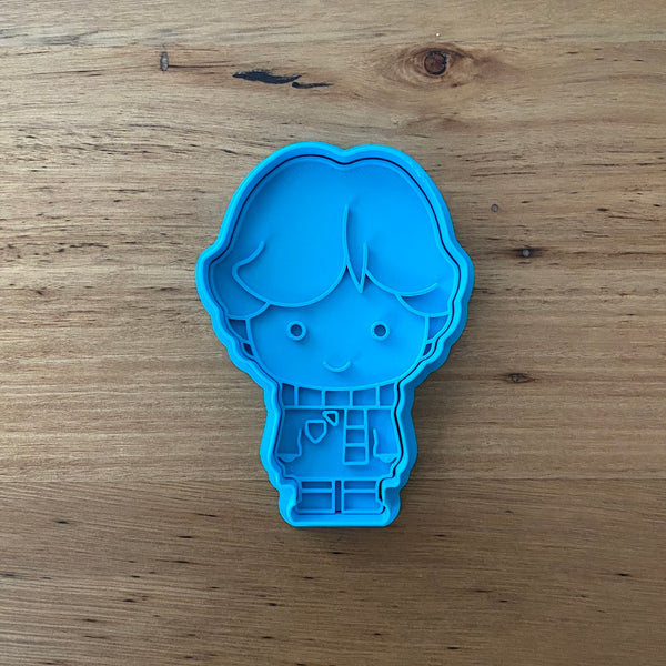 Ron Weasley Cookie Cutter & Stamp Sets - Buy individually or as a set with Hermione Granger and Harry Potter