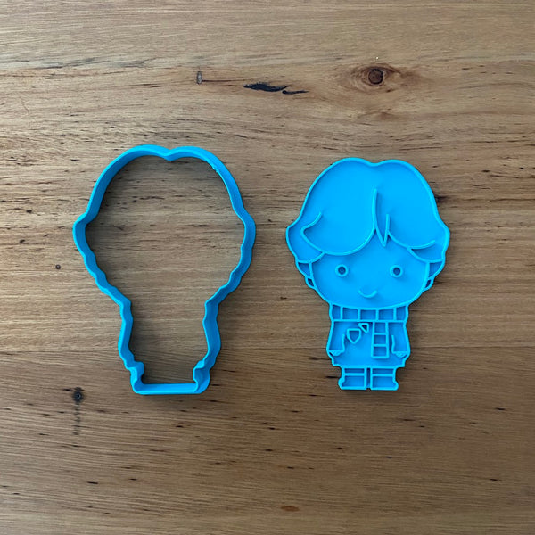 Ron Beasley Cookie Cutter & Stamp Sets - Buy individually or as a set with Hermione Granger and Harry Potter