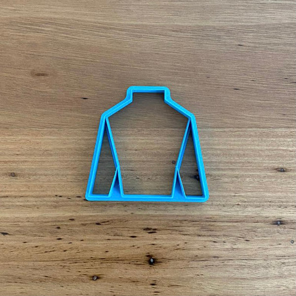 Horse Riding Racing Jockey Jersey Cookie Cutter