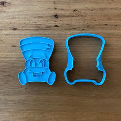 Lawnmower Cookie Cutter & Stamp