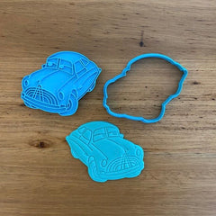 Doc from Lightning McQueen Cookie Cutter & optional Stamp