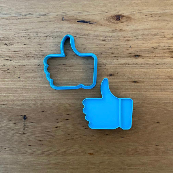 Facebook Like Emoji Cookie Cutter & Emboss Stamp