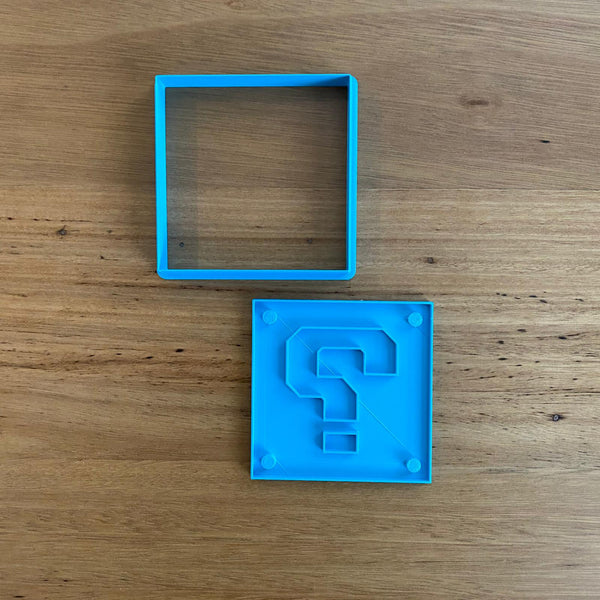 Mario's Question Box Cookie Cutter & Stamp