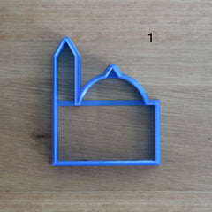 Mosque - 8 Styles of Cookie Cutters to choose!