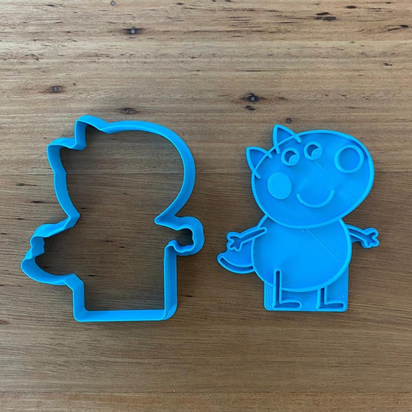 Danny Dog Cookie Cutter and optional Stamp