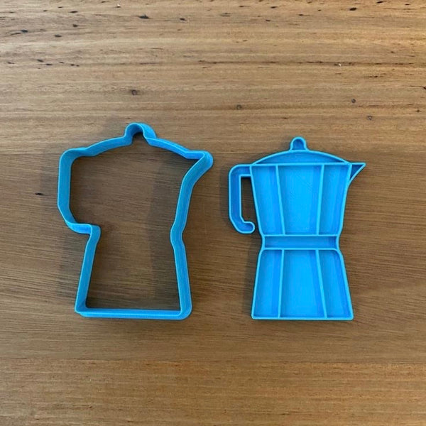 Coffee Percolator Cookie Cutter & Optional Stamp