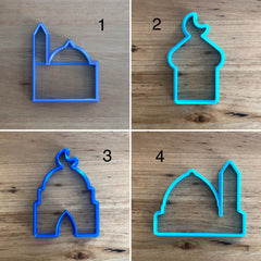 Mosque - 8 styles - Cookie Cutter