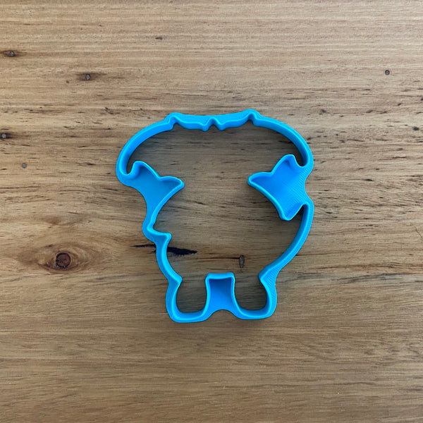 Pokemon Dragonite Cookie Cutter and Stamp measures approx. 90mm tall.  Also, don't miss our other Pokemon or Kids themed cookie cutters, search for