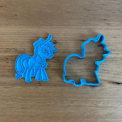Pony Cutter and Stamp Set - Apple Jack