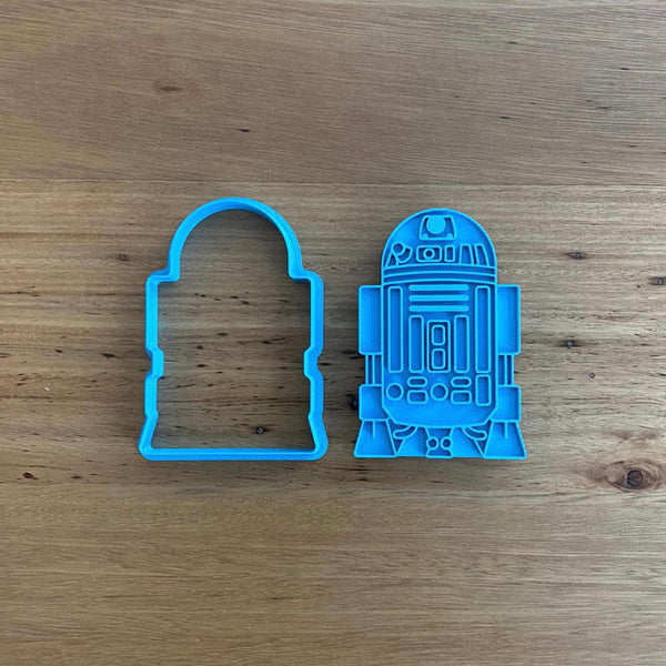 R2D2 Star Wars Cookie Cutter and Stamp Set