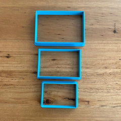Rectangle Cookie Cutter - various sizes