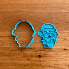 Santa Father Christmas Cookie Cutter & Stamp NEW FOR 2020
