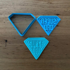 Super Dad Father's Day Cutter & Emboss Stamp