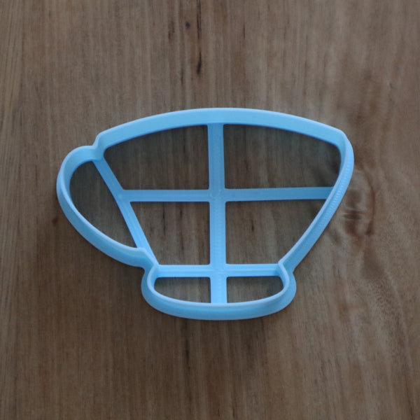 Tea Pot Cookie Cutter and Optional Stamp measures approx. 63mm tall by 90mm wide  Tea Pot photo by @sweet.tucker.by.amy  Be sure to see our tea cup and takeaway coffee cup and other Home items by searching