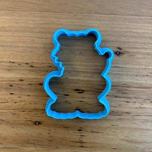 Tiger Cookie Cutter & Optional Stamp measures approx 70mm tall and 55mm wide at the widest part  See our complete Animal range by searching