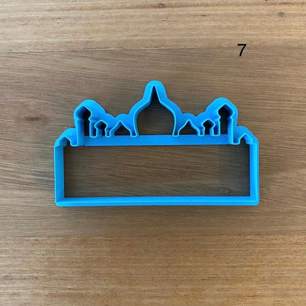 Mosque Cookie Cutter Eid 8 designs