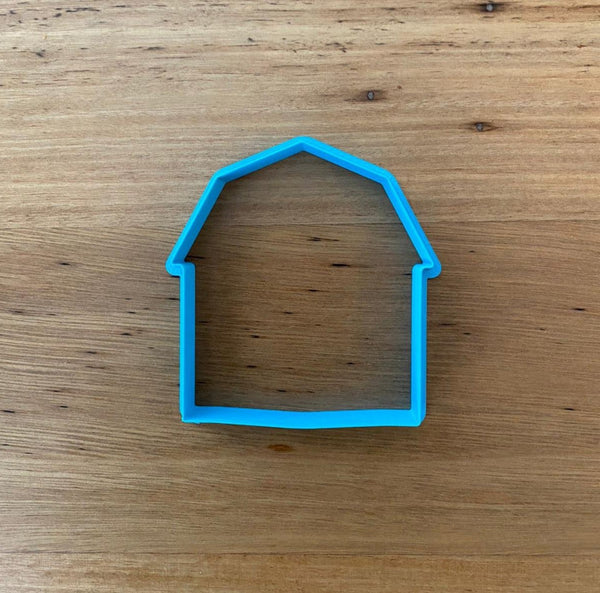 Farmyard Barn Cutter & Optional Stamp. Cute farmyard Barn to help make your set complete when matched with our farmyard animals.