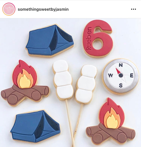 Tent Cookie Cutter and Stamp