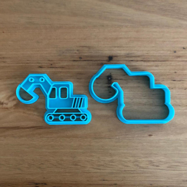 Digger Cookie Cutter and optional Stamp