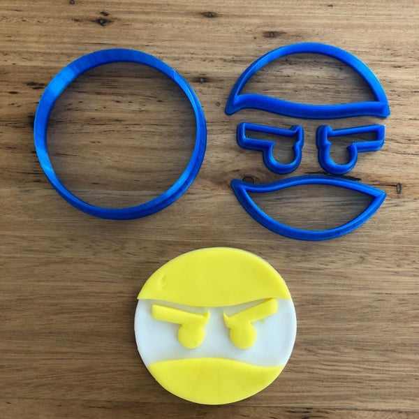 Ninjago - Cookie Cutter, Fondant Cutter & Stamp Set