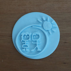 Custom Emboss Stamp for Cookie or Fondant