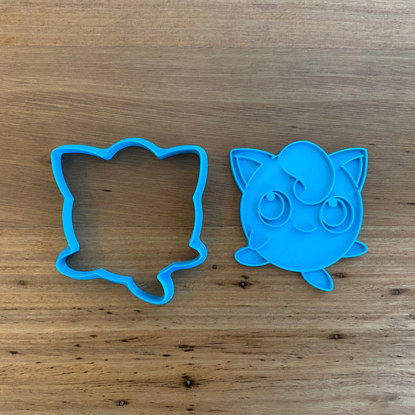 Pokemon Jigglypuff Cookie Cutter and Stamp