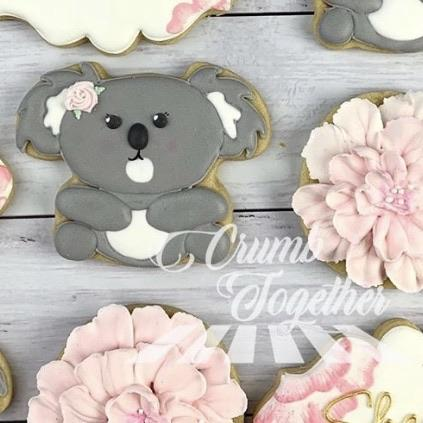 Koala Cookie Cutter measures approx. 75mm tall by 90mm wide  Also, don't miss our other Australian animal themed cookie cutters, search for