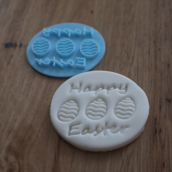 Happy Easter Stamp Emboss