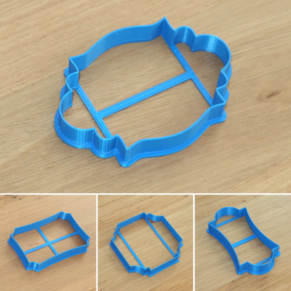 placque frame cookie cutter