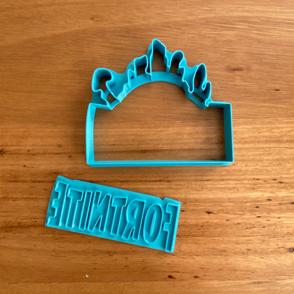 Fortnite Logo Cutter & Stamp