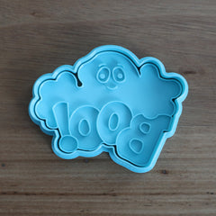 BOO! Cookie Cutter and Stamp Set