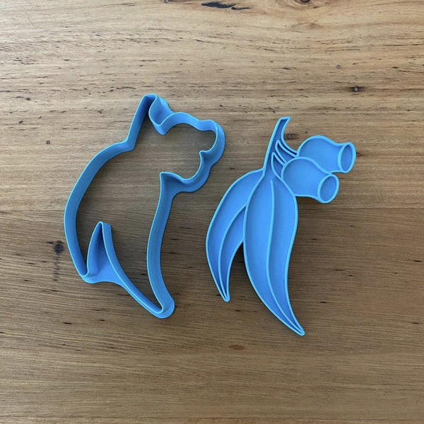 Gum nut and Leaves Cookie Cutter & Emboss Stamp
