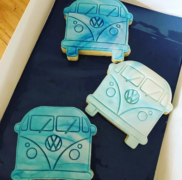 VW Combi Van - Cookie Cutter and optional Fondant Stamp
